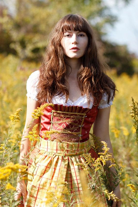 Alpine Sunshine-German Bavarian Summer Dirndle Dress | mes ...