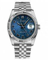 Rolex Datejust 36mm Acier Bleu Jubilee Cadran Jubilee Bracelet 116234 BLJRJ