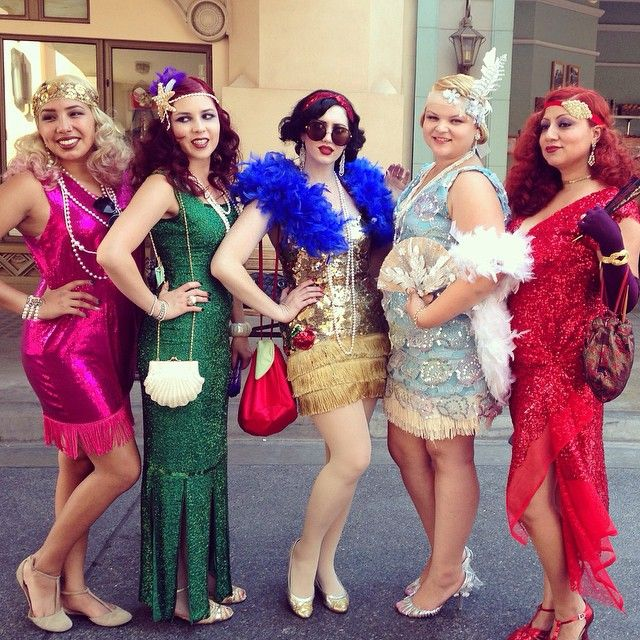 Pin for Later: 43 Disney Costumes You and Your Group Can DIY Flapper Disney Princesses