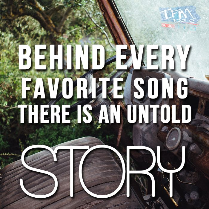 Every story has a song. #music #life