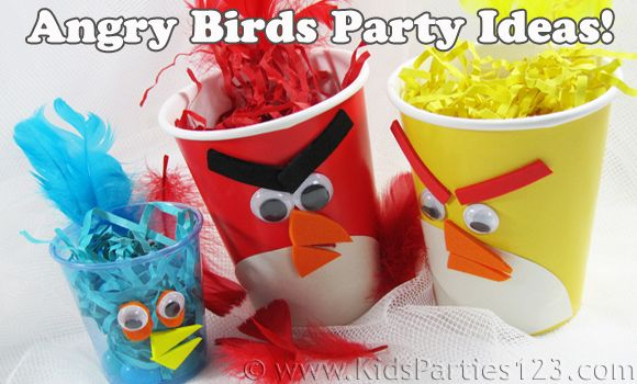 Dollar Store Crafts » Blog Archive Throw an Angry Birds Birthday Party » Dollar Store Crafts