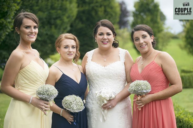 The bridesmaids! Weddings at Mullingar Park Hotel by Couple Photography.