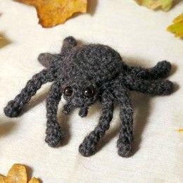 Free Halloween Spider Crochet Patterns