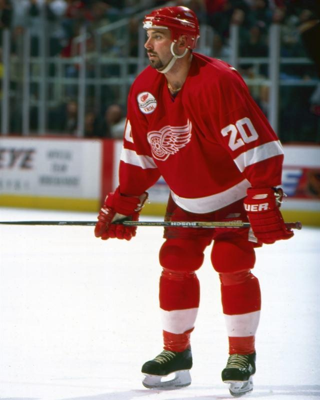 Martin Lapointe (Red Wings de Détroit)