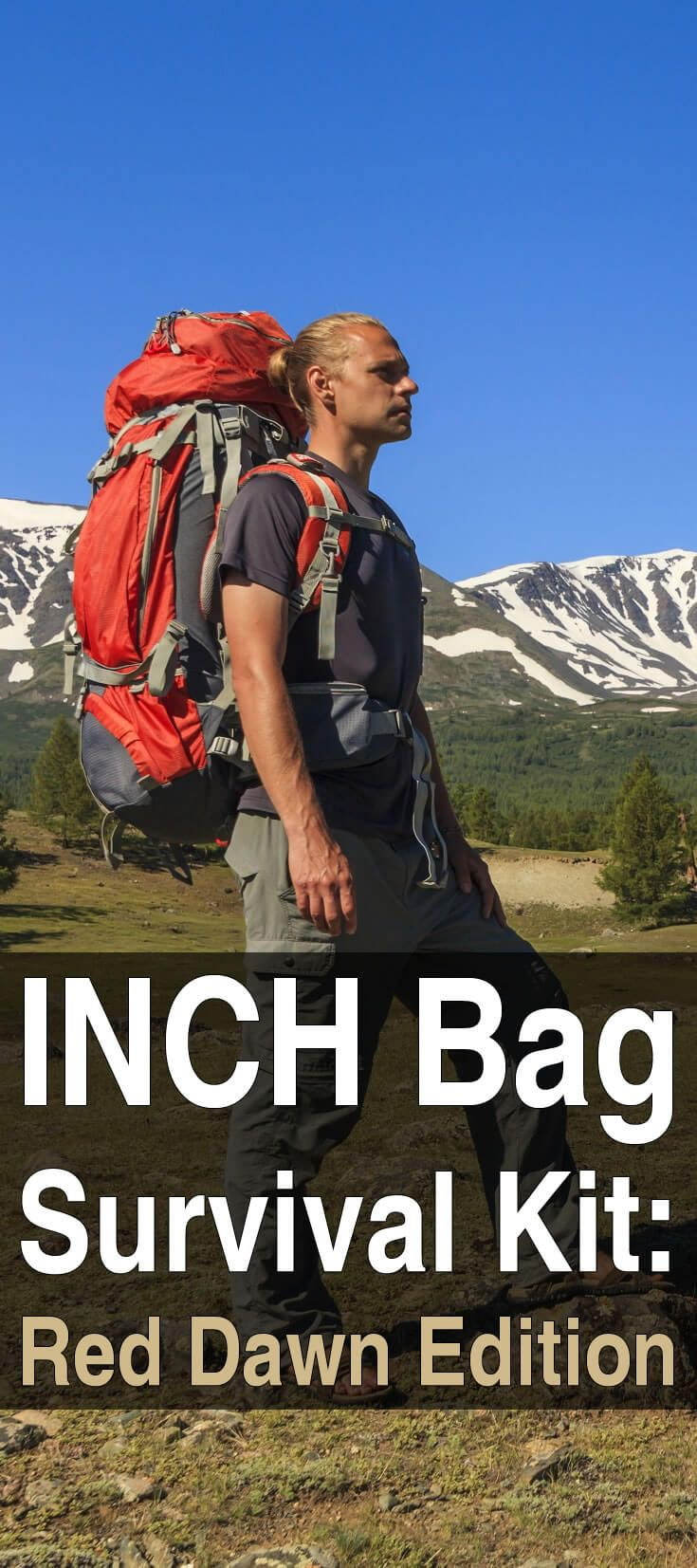An INCH bag is the ultimate end-of-the-world bag, the kind of bag you'd want to have if you were heading to the hills during a Red Dawn type disaster.