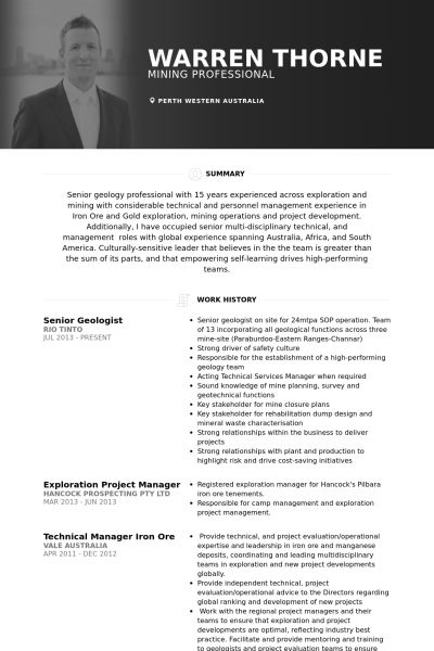 Best 25+ Resume template australia ideas on Pinterest Inspire - geologist sample resume