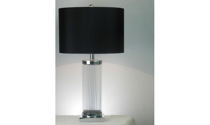 LAMPA STOŁOWA SZKLANA COLUMN