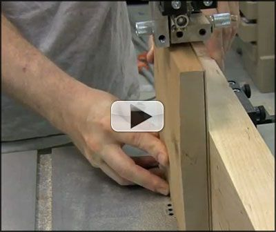 ... - The process of Resawing with a Wood Slicer Resawing Bandsaw Blade