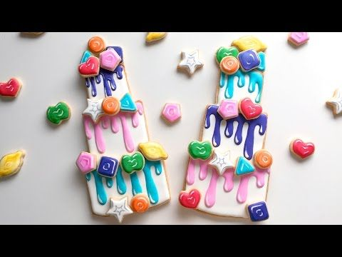 Gummy Drop Cookies and The Great Gummy Bake Off! - YouTube