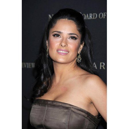 Salma Hayek At Arrivals For National Board Of Review Of Motion Pictures 2008 Awards Canvas Art - (16 x 20)