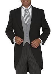 groom morning suit grey black - Google Search