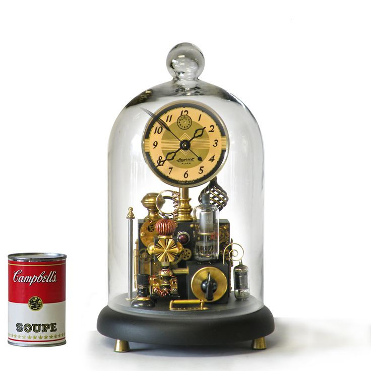 190 best images about steampunk clocks on pinterest for Steampunk wall clocks for sale