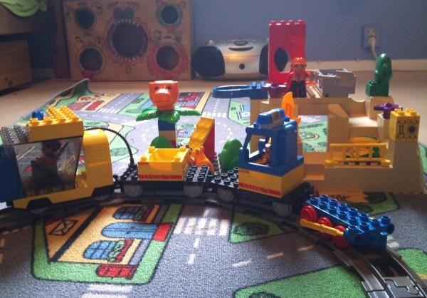 Togbanebyggeplassen