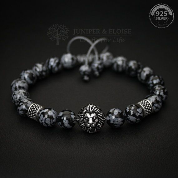 Lion armband cadeau voor hem 925 zilveren sieraden van de