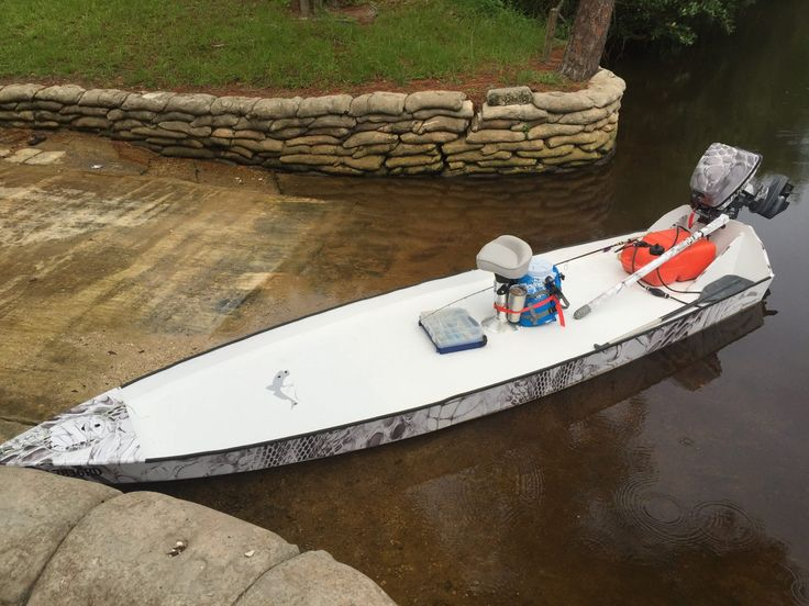 Skiff life s bateau sk14 build a lesson in skinny water for Build fishing boat