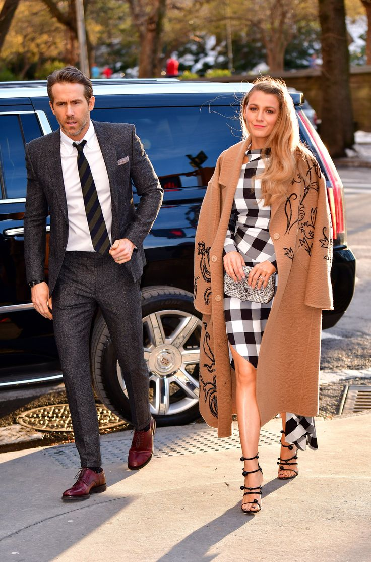 Blake Lively and Ryan Reynolds Do His-and-Hers Date Night Style