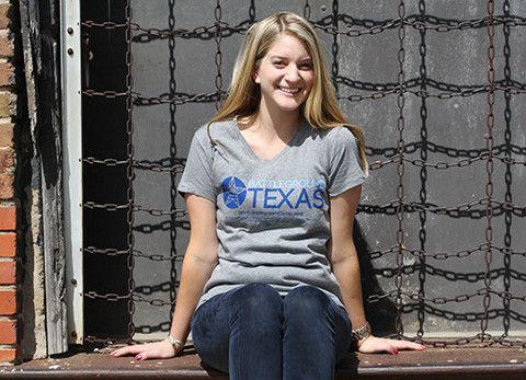 Women's V-neck T-shirt – Battleground Texas Store; TX 38 ELECTORAL VOTES IN 2016