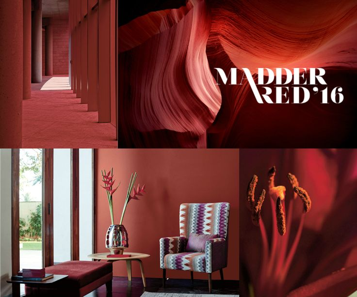 Rich, rose hue makes our Madder Red a red to live by or die for! Follow our board to see more inspirations with Madder.