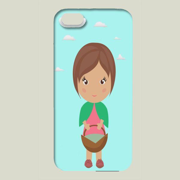 Fun Indie Art from BoomBoomPrints.com! https://www.boomboomprints.com/Product/Harpreet1456/Cute_little_girl/iPhone_Cases/iPhone_5_Slim_Case/