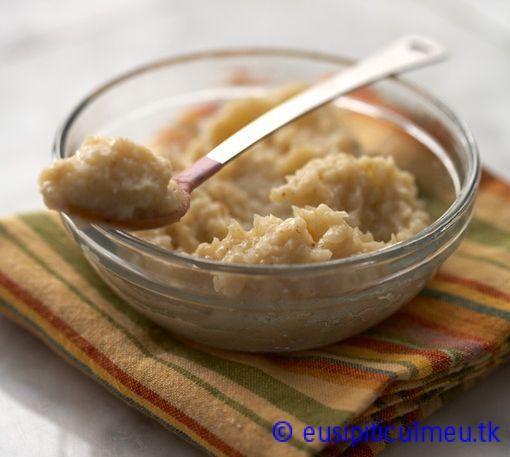 Piure de mere coapte cu orez – eusipiticulmeu
