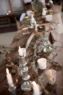 Cute Christmas Inspiration: Nordisk jul med natur elementer - del 1