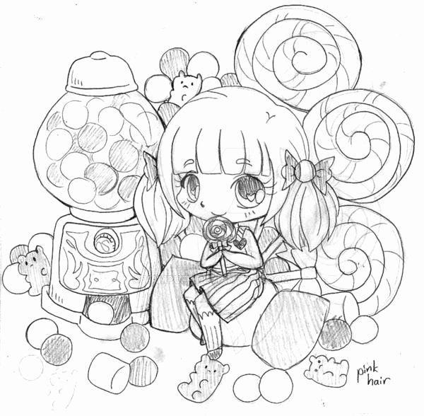 Anime Christmas Coloring Pages Fresh Candy Box Chibi Mission Sketch 2 By Yampuff On Deviantart Chibi Coloring Pages Cute Coloring Pages Coloring Pages