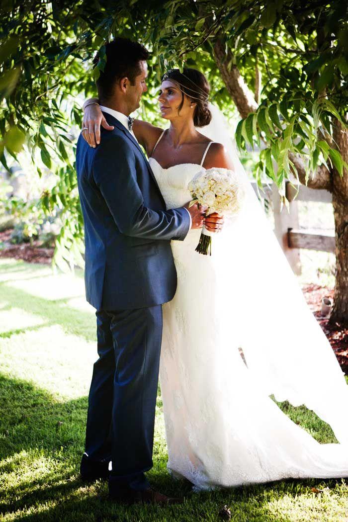 Garden photos #romantic #bohemian #bride Dress: Leonardo Salinas / PC: Akila Berjaoui + Mim Connell