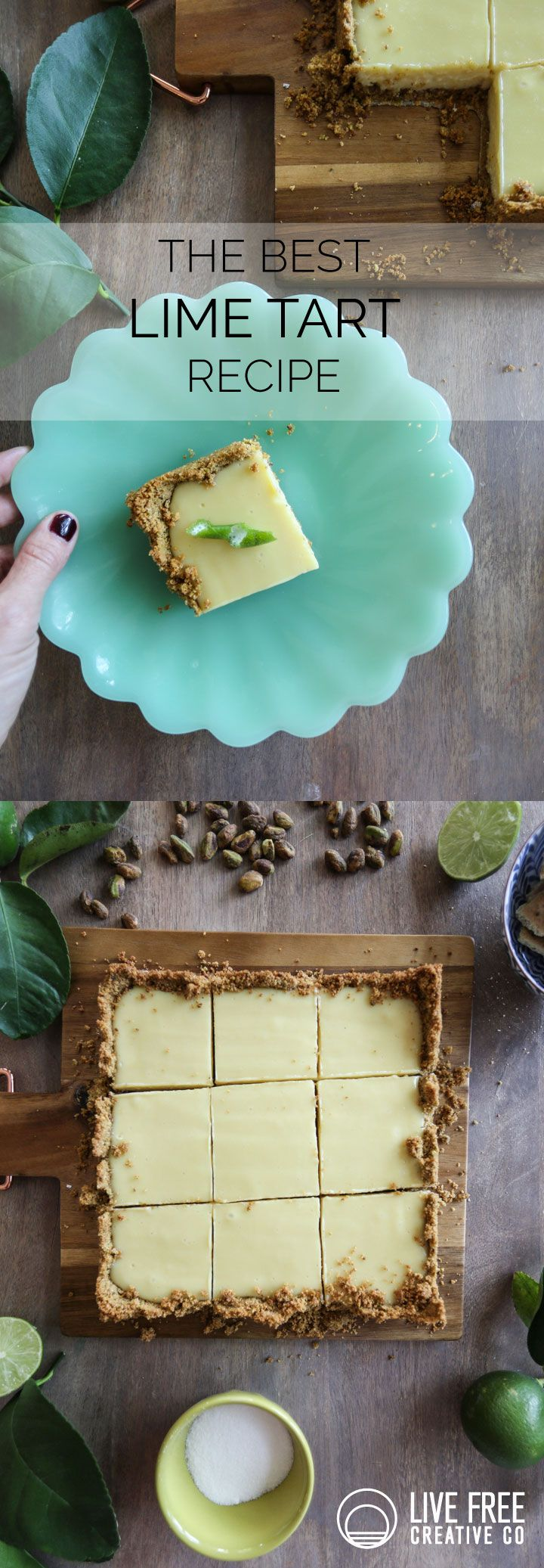 Walmart Grocery Pickup and the best Lime Tart Recipe - Live Free Creative Co