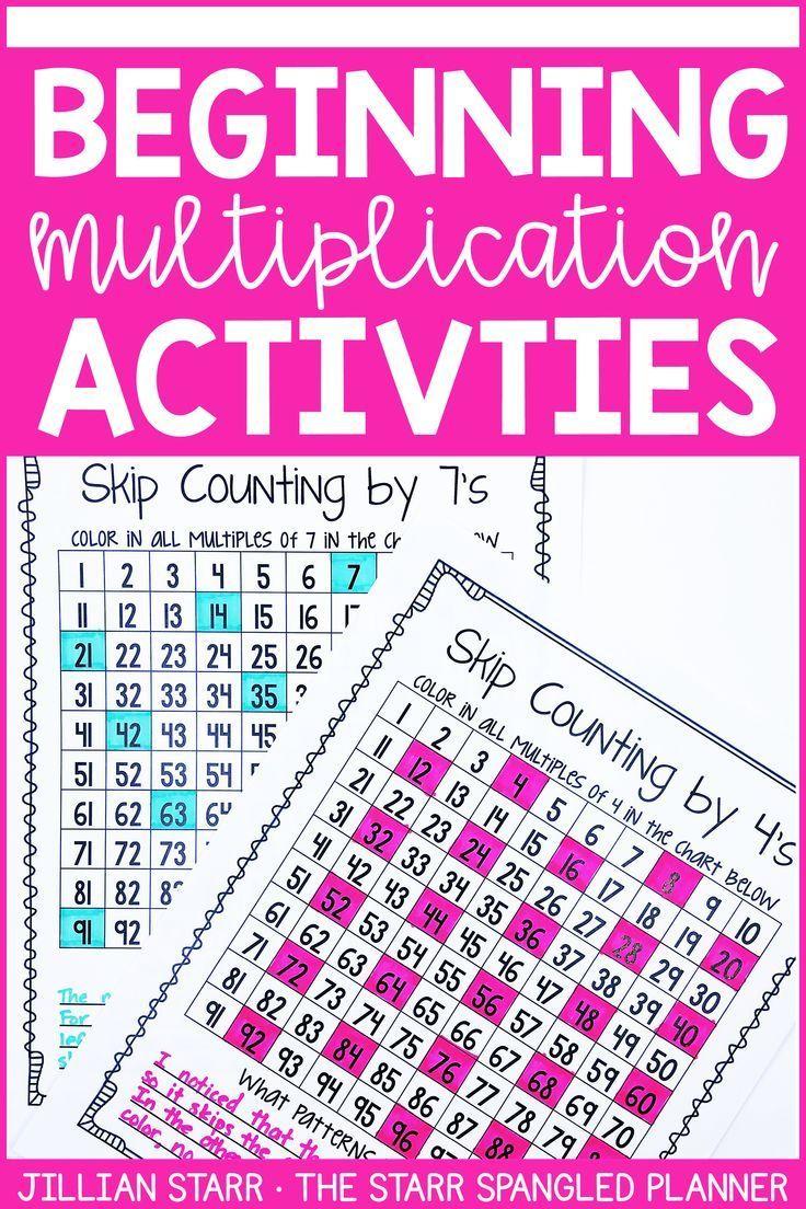 10 Multiplication Math Center Games Activities 3rd Grade