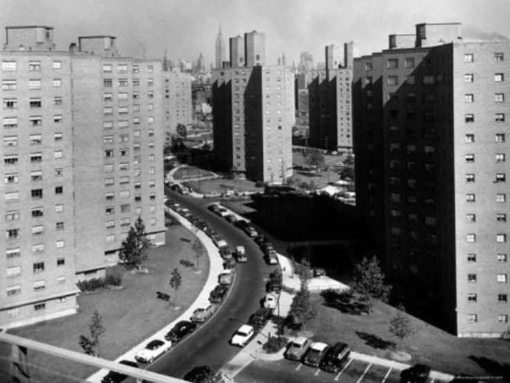 Peter Cooper Village And Stuyvesant Town Between 14th and 23rd Sts. on the East Side of the City,