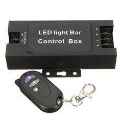 Remote Wireless LED Light Bar Control Box Flashing Strobe Controller
