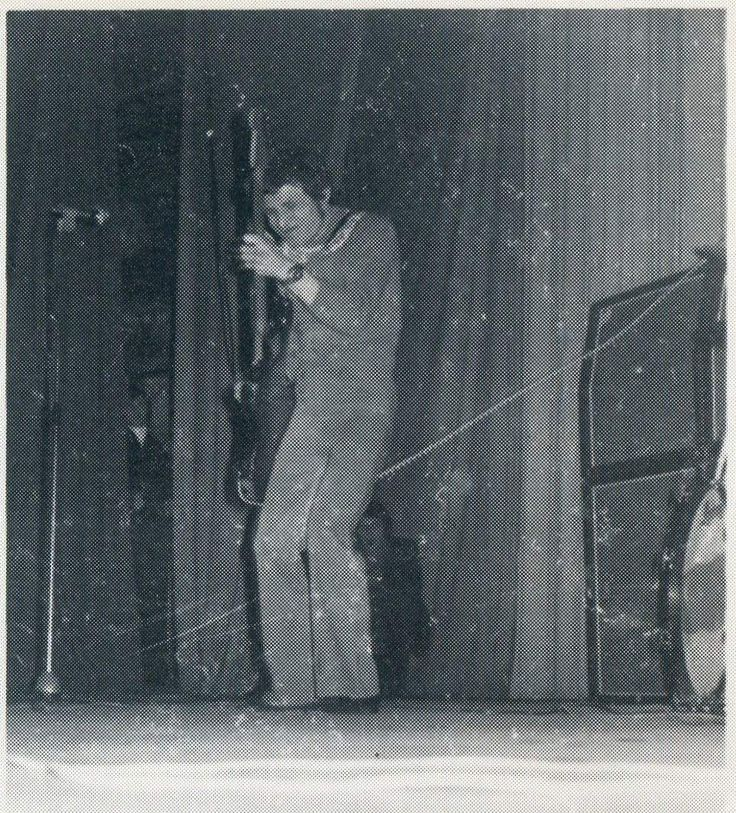 Jack Bruce, Lorensberg Circus, Gothenburg, Sweden. March 8, 1967.