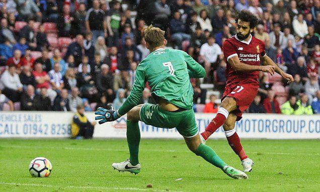 Wigan 1-1 Liverpool: Mo Salah scores on his Reds debut