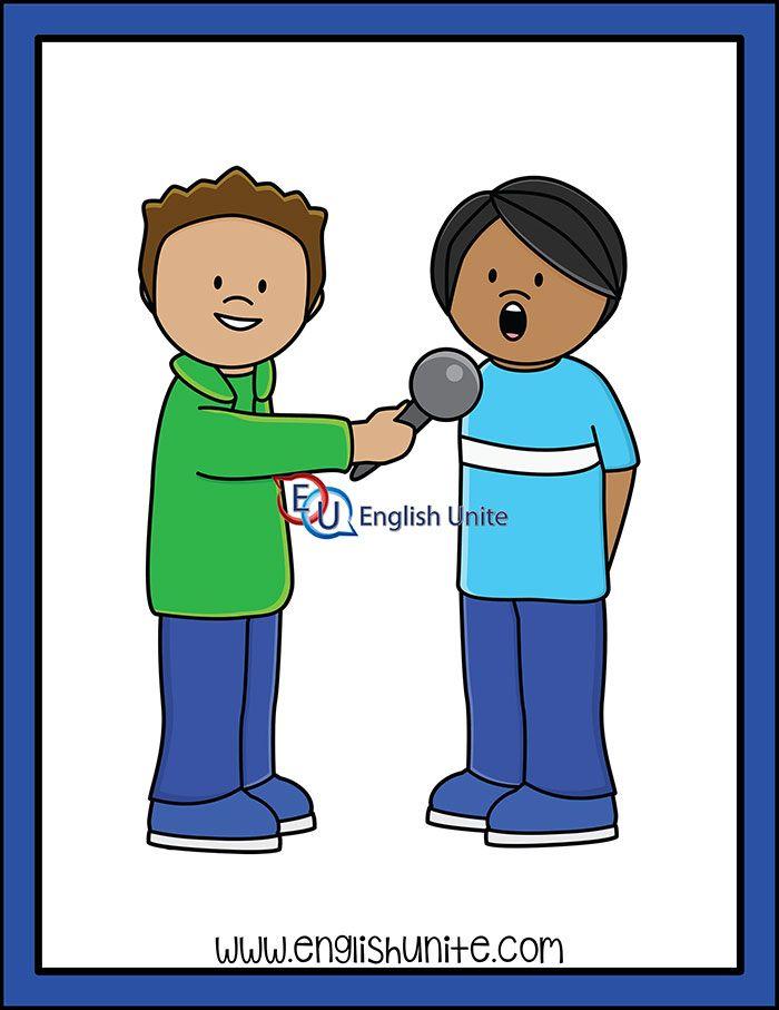 Prefix Interview English Unite Clip Art Free Clip Art Kids Clipart