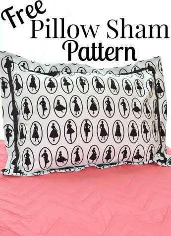 Pillow Sham Patterns Free: 25+ unique Pillow shams ideas on Pinterest   Farmhouse pillowcases    ,