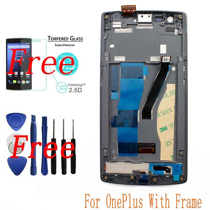 New For Oneplus One 1+ A0001 LCD Display + Touch Screen Digitizer Assembly Panel with Frame Fully Tested +Tools+Tempered Glass Nail That Deal http://nailthatdeal.com/products/new-for-oneplus-one-1-a0001-lcd-display-touch-screen-digitizer-assembly-panel-with-frame-fully-tested-toolstempered-glass/ #shopping #nailthatdeal