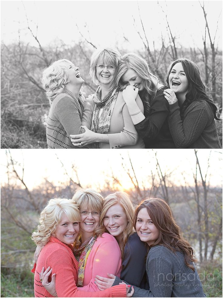 I would love to have a picture of me and my three sisters like this... :( @Amy Hall Shepherd