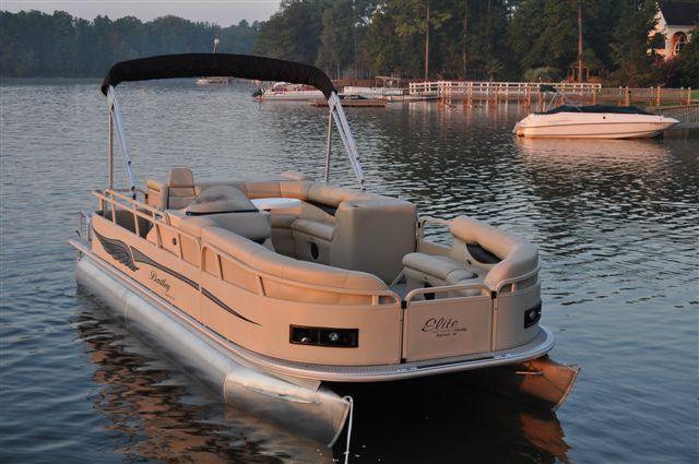 New 2012 Bentley Pontoon Boats 203 Cruise Pontoon Boat - Tan/Brown Color
