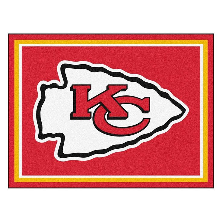 Kansas City Chiefs NFL 8ft x10ft Area Rug