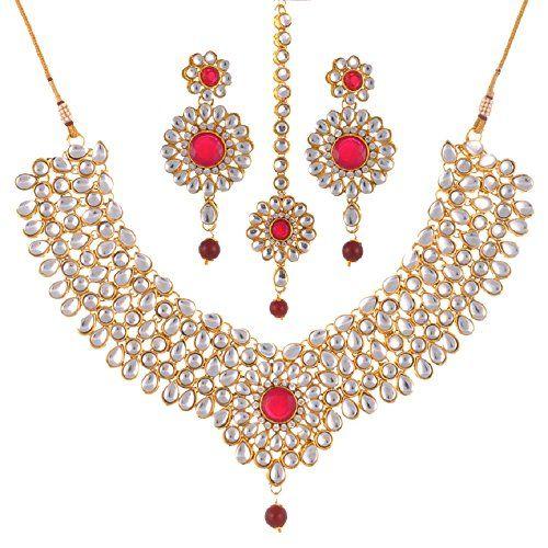 Indian Bollywood Bridal Red Stone Kundan Wedding & Party ... https://www.amazon.com/dp/B01NCZ8C6Z/ref=cm_sw_r_pi_dp_x_ImYJybPHPMXC5