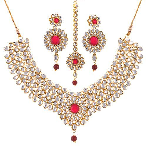 Indian Bollywood Bridal Red Stone Kundan Wedding & Party ... https://www.amazon.com/dp/B01NCZ8C6Z/ref=cm_sw_r_pi_dp_x_dFcLyb9RB6204