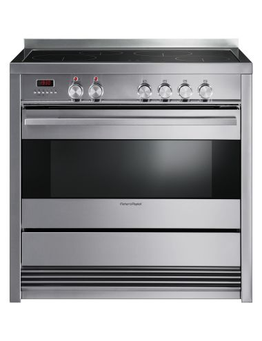 This 90cm Freestanding Cooker gives you the flexibilty to prepare several courses simultaneously with an extra large oven, that offers a Pyrolytic Self Clean function, combined with a four-zone induction cooktop.