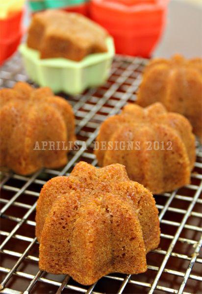 Aprilisa's Kitchen Notes: Bolu Sakura (Caramel Steamed Cake)