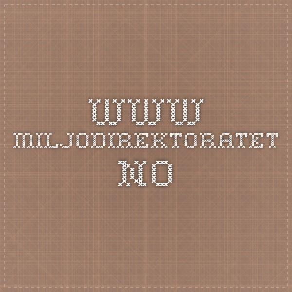 www.miljodirektoratet.no
