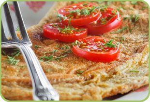 Smoked Salmon omlette