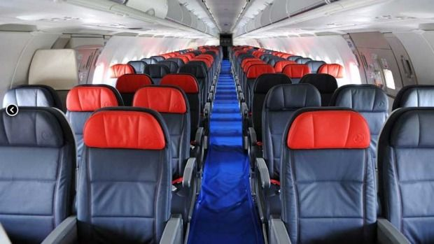 Turkish Airlines economy class. Turkish Airlines has been named the best airline in Europe for four years in a row.