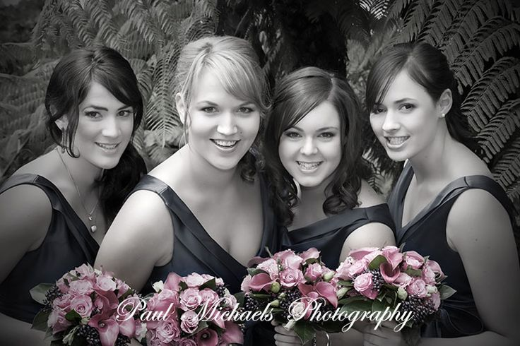 Beautiful bridesmaids. Pictures by PaulMichaels photographers http://www.paulmichaels.co.nz