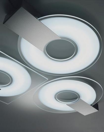 #Q #design ceiling lamp by selene illuminazione
