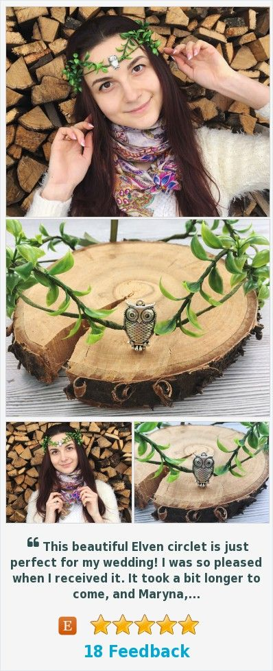 Elf tiara fairy crown owl costume Elven circlet Gift for elven lover https://www.etsy.com/TheMysteryOfFields/listing/494236924/owl-gift-for-woman-elf-tiara-fairy-crown?ref=shop_home_active_7  (Pinned using https://PromotePictures.com)