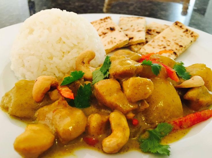 Sweet Coconut Chicken Curry |